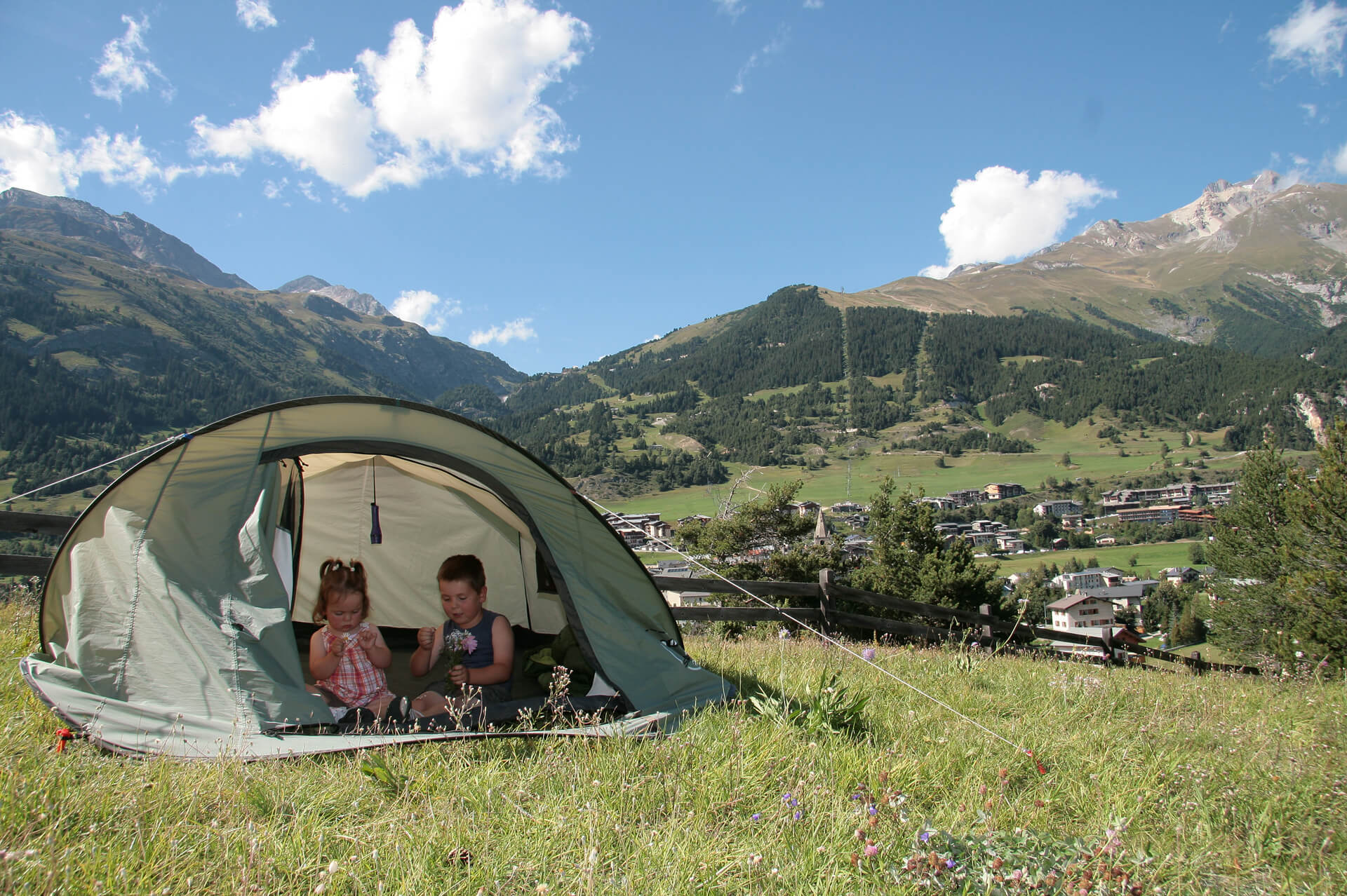 Camping Aussois – MO. Arc en ciel Photo